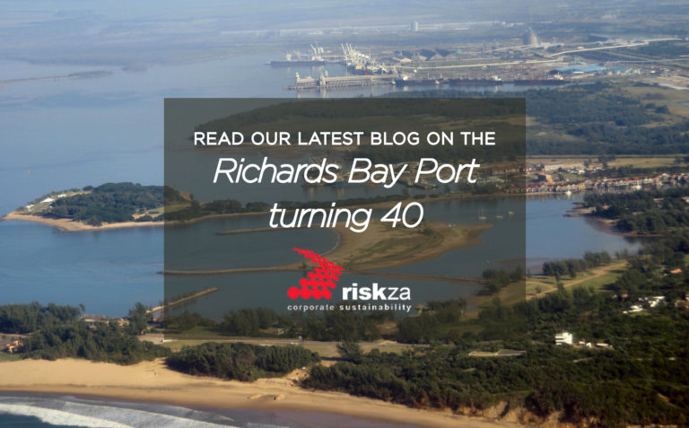 Richard Bay Port turns 40 Risk ZA blog