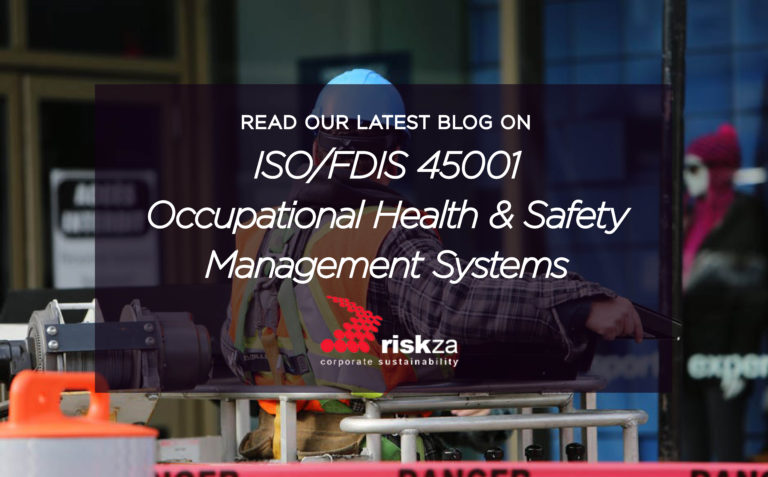 Occupational Health and Safety Management System Standard