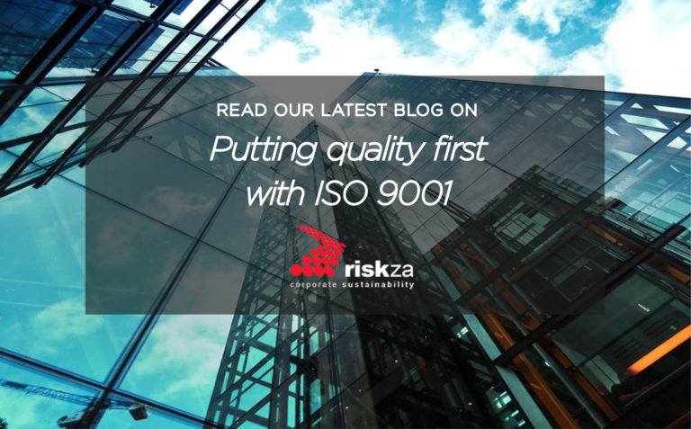 Risk ZA Blog ISO 9001