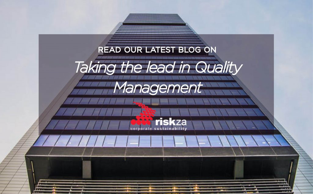 Taking the lead in Quality Management