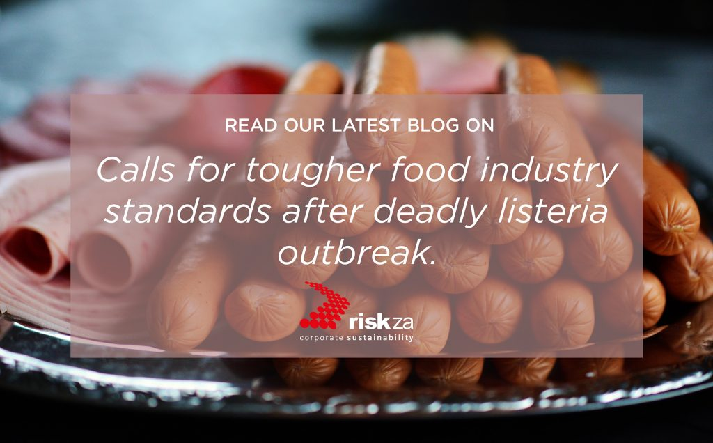 Deadly Listeria outbreak: Can ISO 22000 and preventative controls improve food safety?