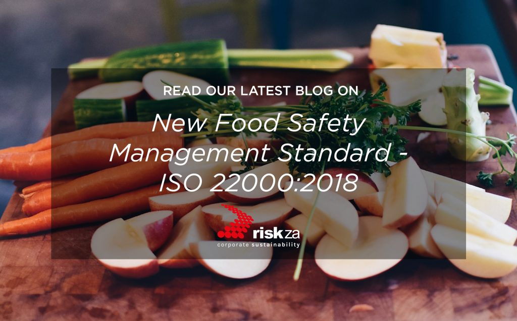 New: ISO 22000:2018 Food Safety Management Standard released | Risk