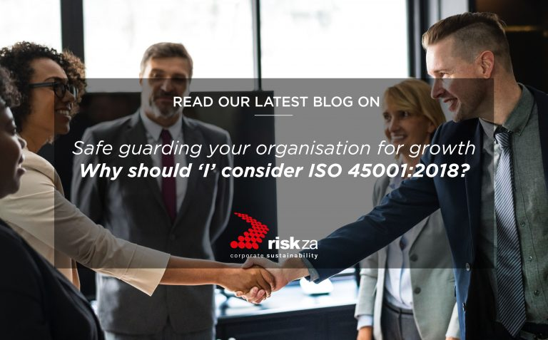 Why Should 'I' consider ISO 45001?