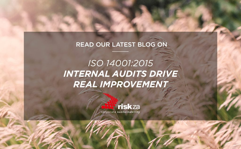 ISO 14001:2015 - Internal Audits Drive Real Improvements