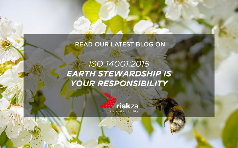 ISO 14001:2015 Earth Stewardship